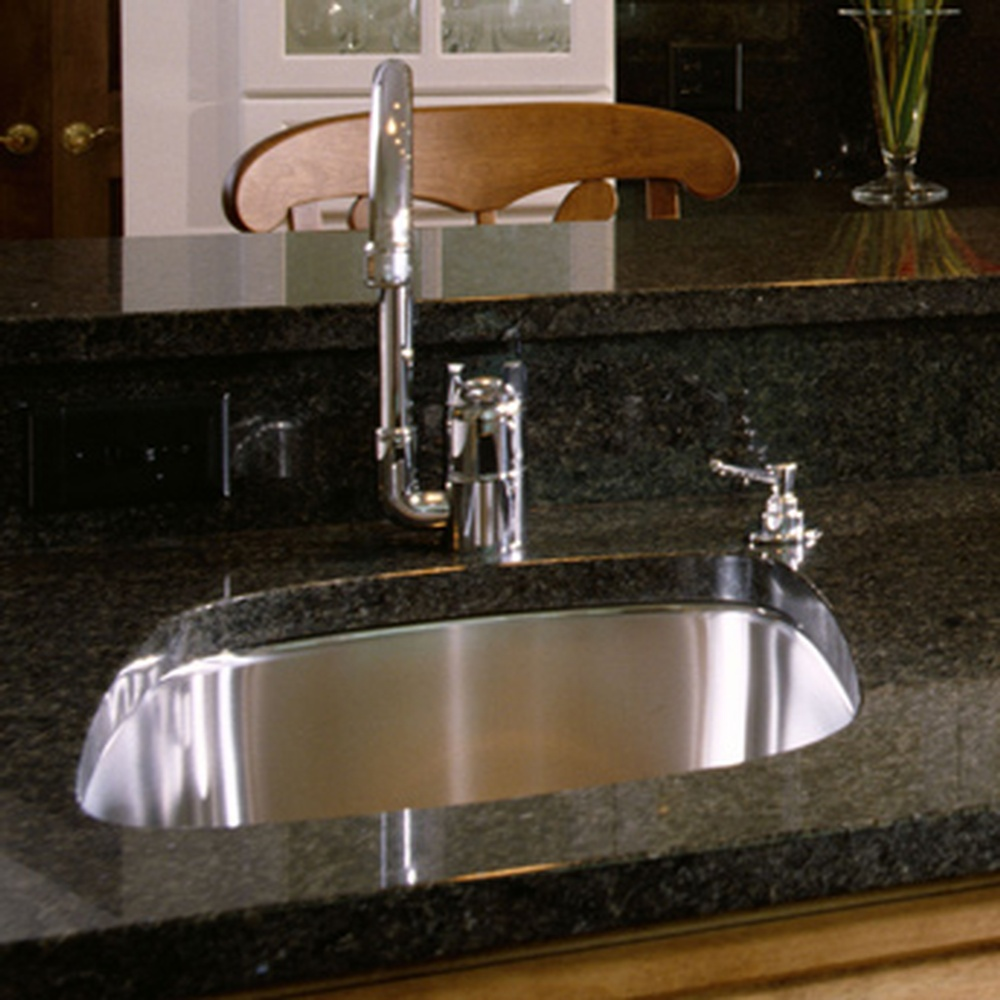 Diy Stone Sink : ... fitting an undermount kitchen sink in a granite or stone countertop